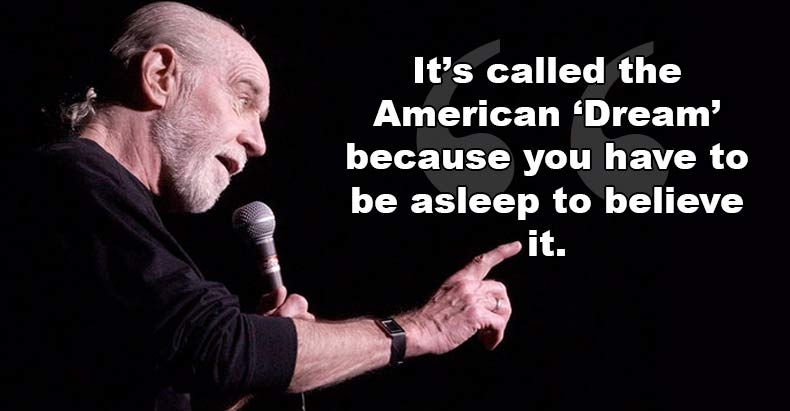 carlin amercan dream